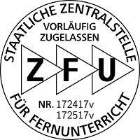 Vorläufige ZFU-Zulassungen